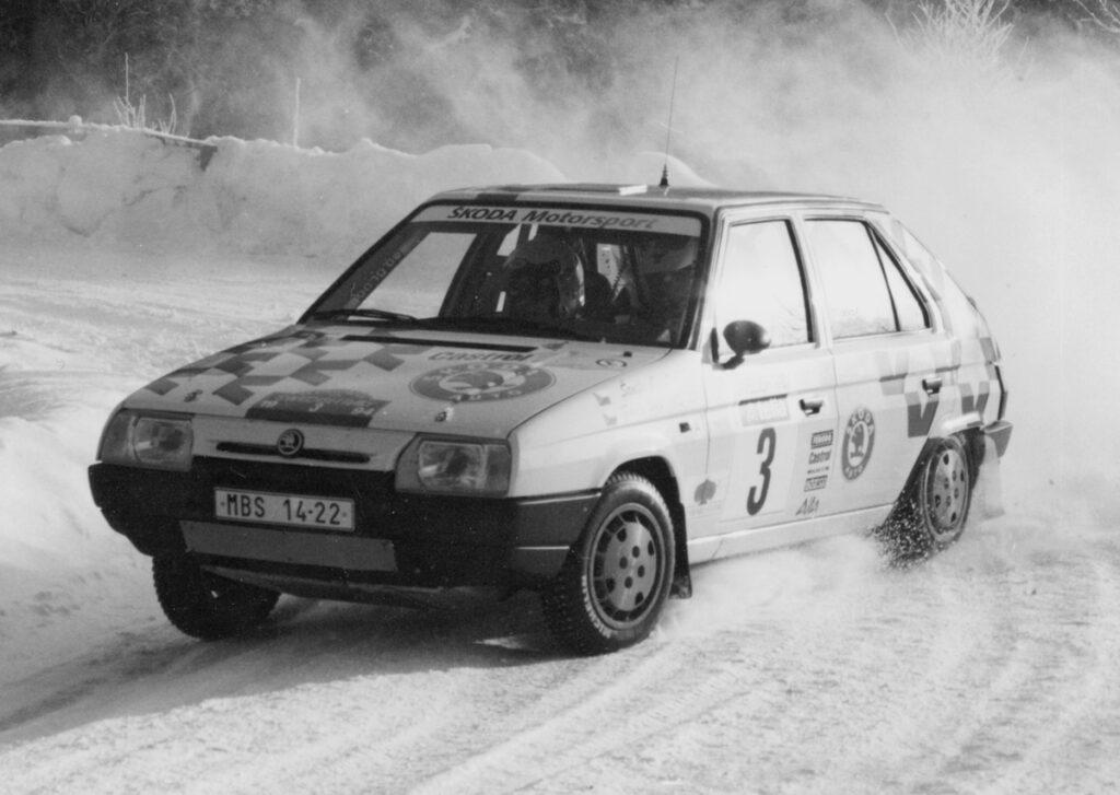 Škoda Favorit w 1994